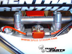 Splitstream uni valve air fork system / 2013 Honda CRF450R