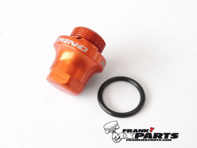 Float bowl drain bolt with o-ring / Keihin FCR MX carburetor