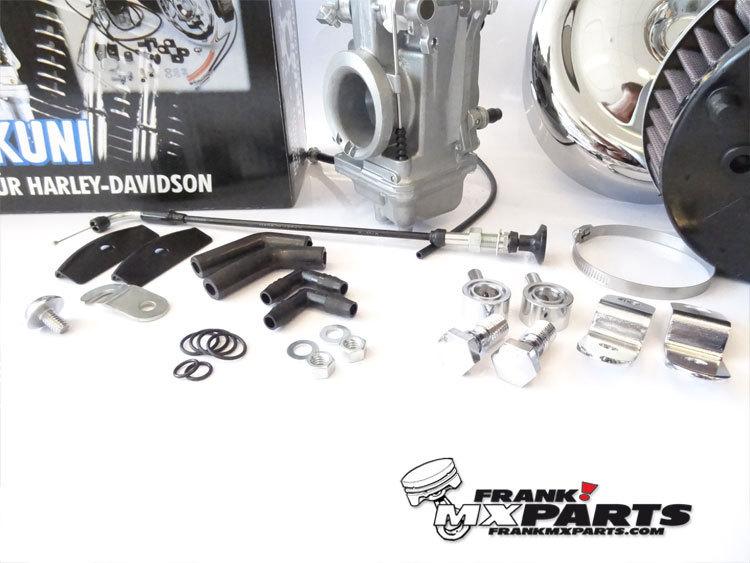 Mikuni HSR 42 Flatslide Smoothbore Carburetor Kit Harley