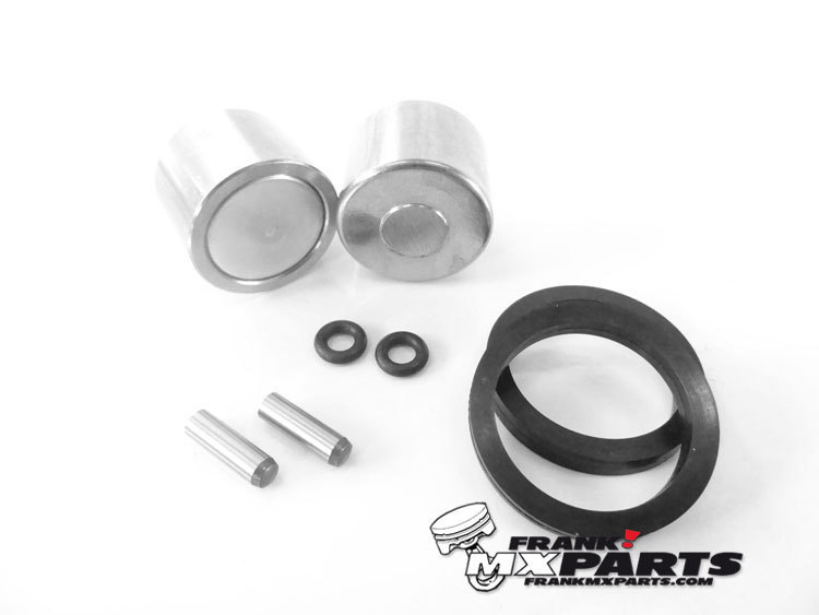 rear brake caliper piston rebuild kit / ktm freeride 250 350 e-sx