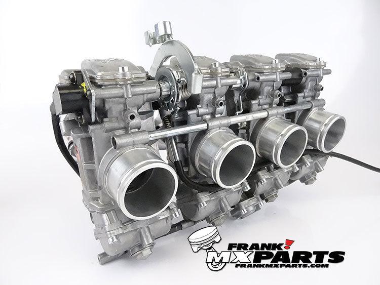 Keihin FCR 41 flatslide racing carburetors / Yamaha R1 (YZF1000R)