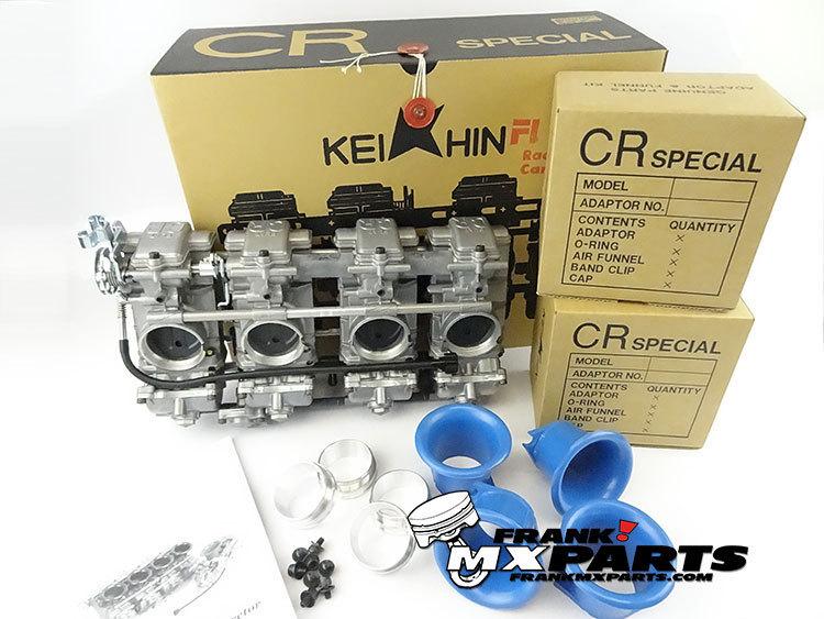 Keihin FCR 41 Flatslide Racing Carburetors 96 99 Kawasaki ZX750 Ninja ZX 7R