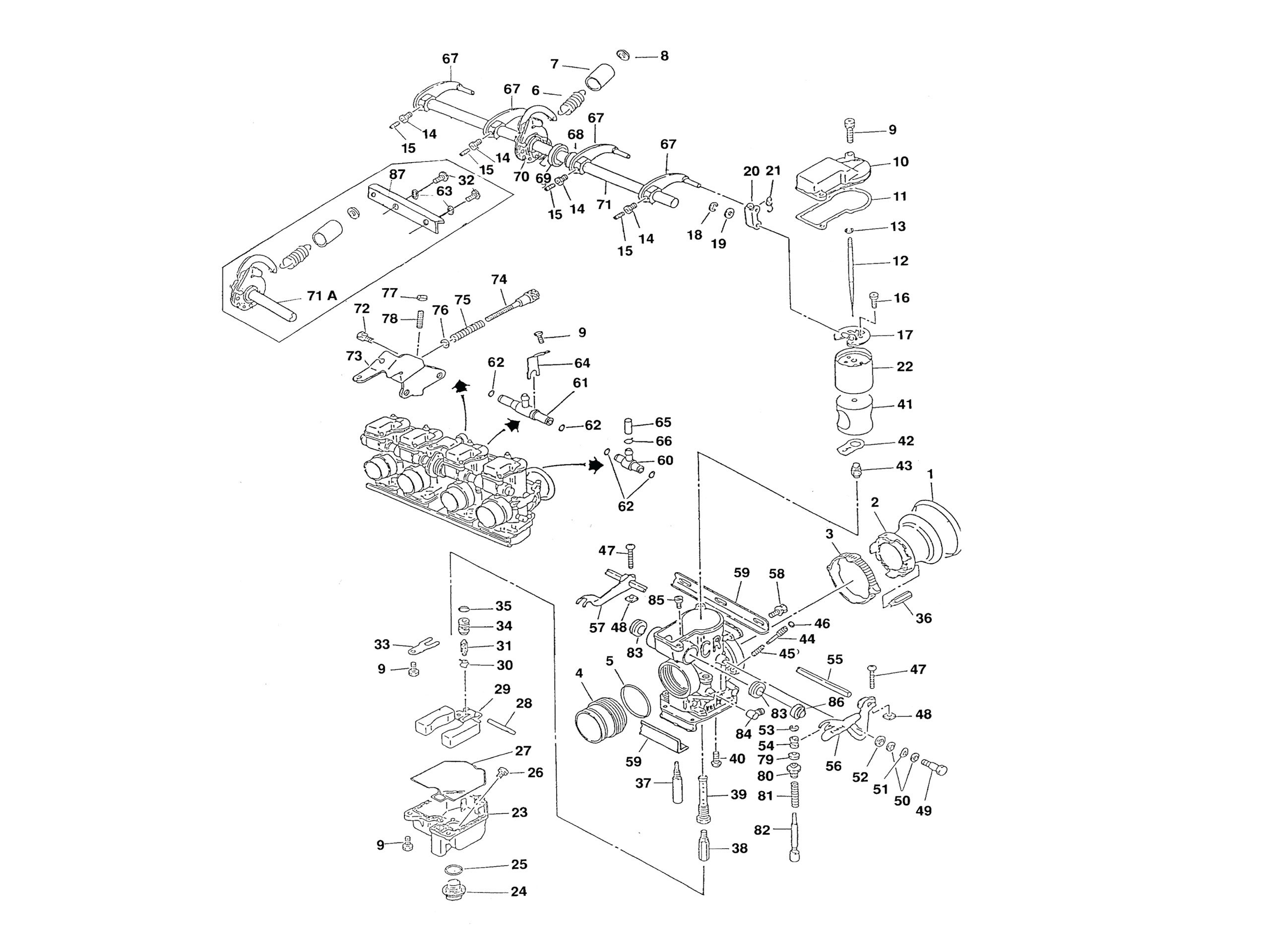 atv wiring diagram discover your wiring diagram pz19 carburetor diagram 1999 honda foreman 450 es wiring