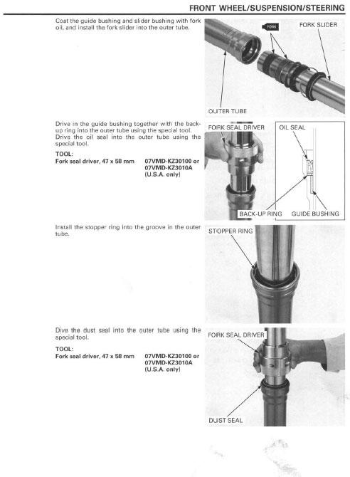 Service manual / 2007 - 2008 Honda CRF450R - Frank! MXParts