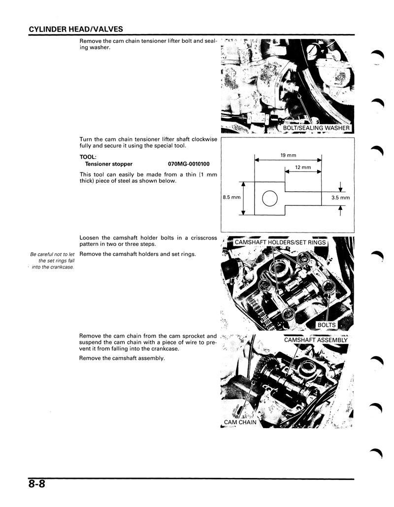 Service Manual 2004 2005 Honda Crf250r Frank Mxparts Crf250x Wiring Diagram