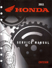 Service manual / 2010-2012 Honda CRF250R
