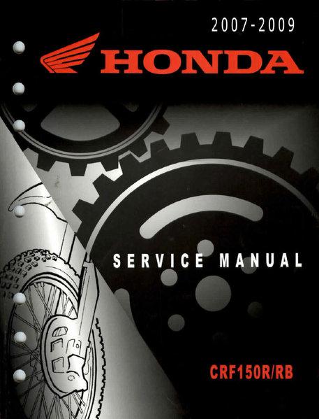 Service Manual    2007 - 2012 Honda Crf150r
