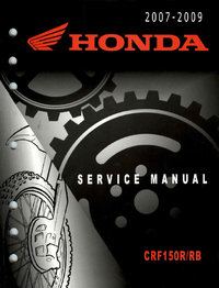 Service manual / 2007 - 2012 Honda CRF150R