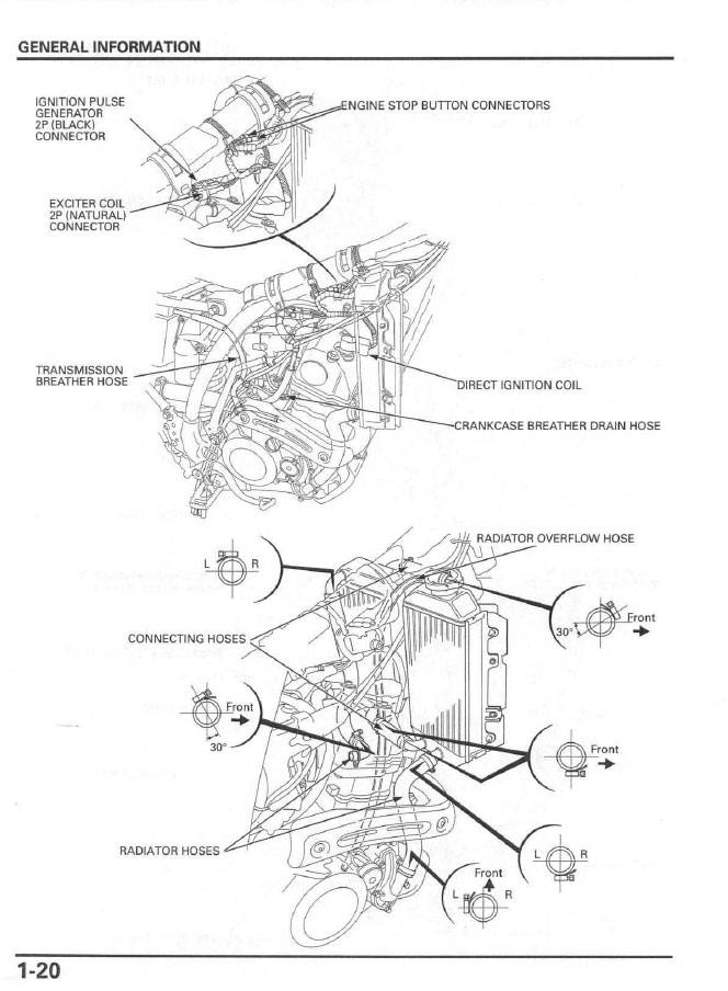service manual    2007 - 2012 honda crf150r