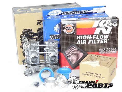 Keihin FCR 41 racing carburetors / Ducati M900 Monster