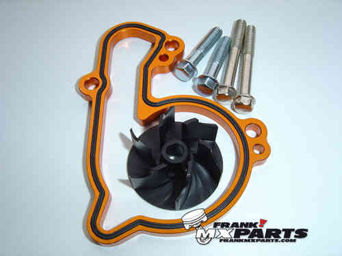 High flow waterpump cooler kit / KTM 250 350 SXF EXCF XCF XCFW Freeride