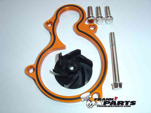 High flow waterpump cooler kit / KTM 450 505 SXF SXS SMR XCF SX ATV SX-F XC-F