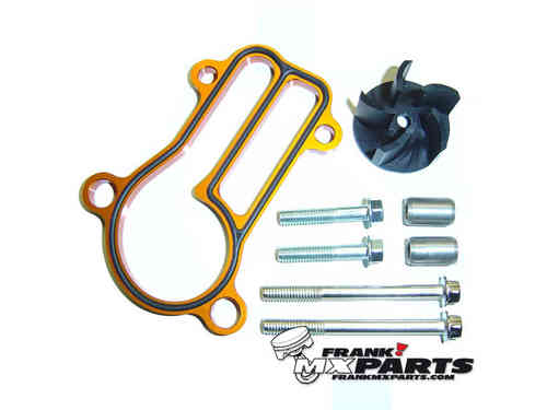 High flow waterpump cooler kit / KTM 250 300 SX EXC SXS XC XC-W MXC FREERIDE
