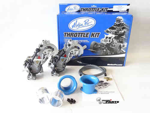 Keihin FCR 41 split racing carburetors / Ducati M900 Monster