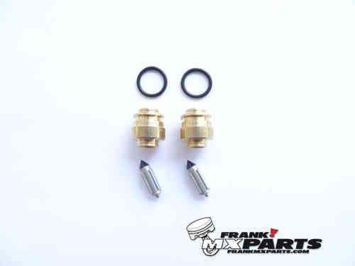 Float valve + seat + o-ring kit / Keihin FCR Ducati Supersport Monster