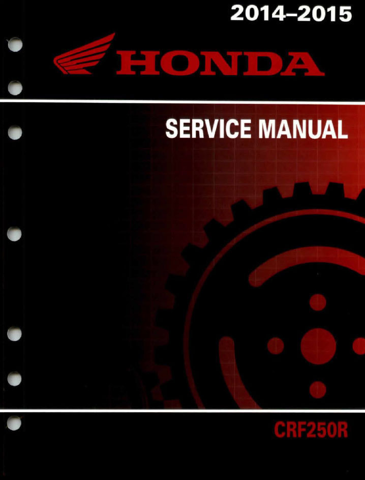 service manual 2014 2015 honda crf250r frank mxparts rh frankmxparts com Honda CRF 250 2002 2010 Honda CRF 250