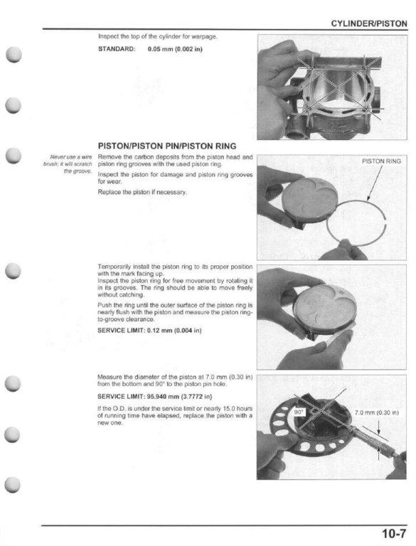 service manual 2009 2016 honda crf450r frank mxparts rh frankmxparts com honda 450r repair manual honda 450r service manual