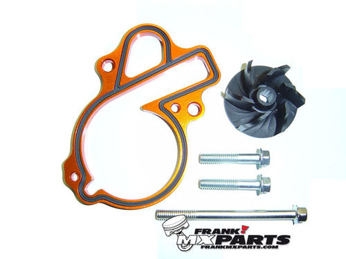 High flow waterpump cooler kit / KTM 450 500 EXC SXF XCW XCF SMR XC-W XC-F