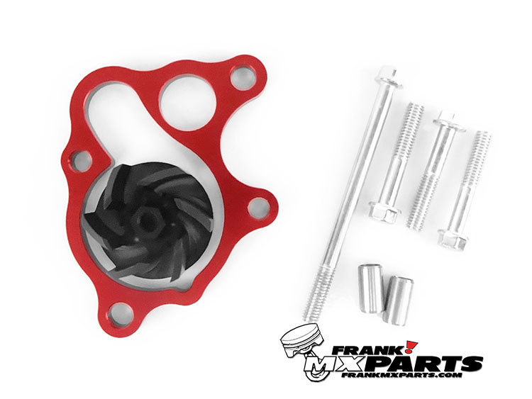 High flow waterpump cooler kit 1986 2001 honda cr500r for Flow honda service