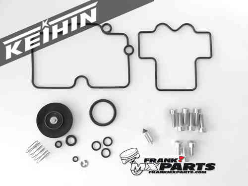 Keihin FCR MX vlakschuif carburateur revisie kit / 2004-2010 Kawasaki KX250F KXF 250