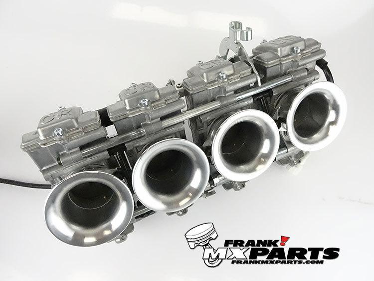 Keihin FCR 41 flatslide racing carburetors / Yamaha R1