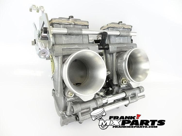 Mikuni TDMR 40 flatslide racing carburetors / Yamaha TRX 850