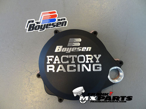 Boyesen Factory racing clutch cover black / 2017 2018 Honda CRF450R CRF450X