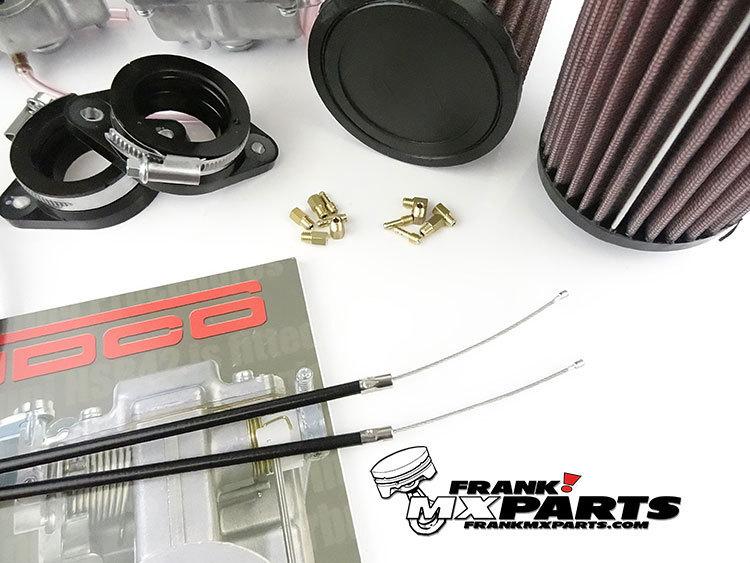 Mikuni VM34 roundslide carburetor kit / Yamaha XS650 - Frank