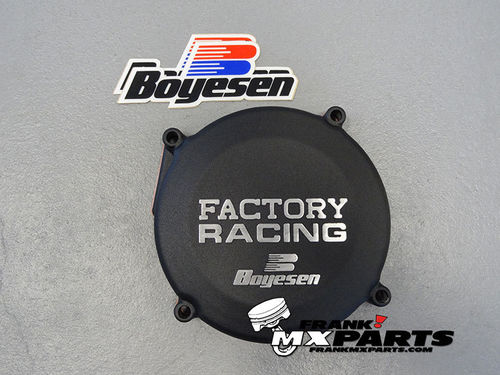 Boyesen Factory racing ignition cover black / 1986-2001 Honda CR 250 CR250R