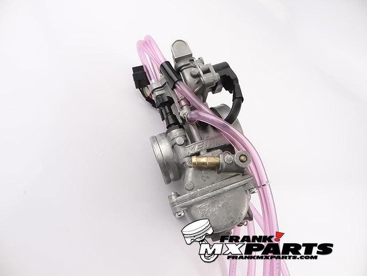 Short body Keihin PWK 38 AirStriker carburetor with TPS and powerjet