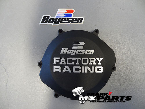 Boyesen Factory racing clutch cover black / 2002-2007 Honda CR 250 CR250R