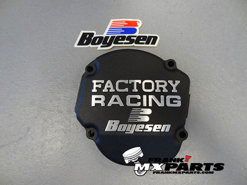 Boyesen Factory racing ignition cover black / 2002-2007 Honda CR 250 CR250R