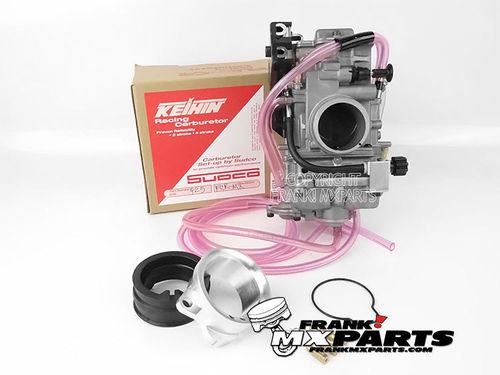 Keihin FCR MX 39 flatslide carburetor upgrade kit / Suzuki DRZ 400 DR-Z400