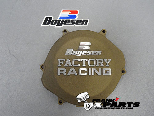 Boyesen Factory racing clutch cover magnesium / 2002-2007 Honda CR 250 CR250