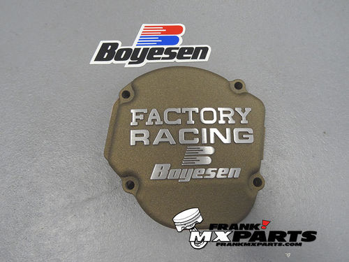 Boyesen Factory racing ignition cover magnesium / 2002-2007 Honda CR 250 CR250R