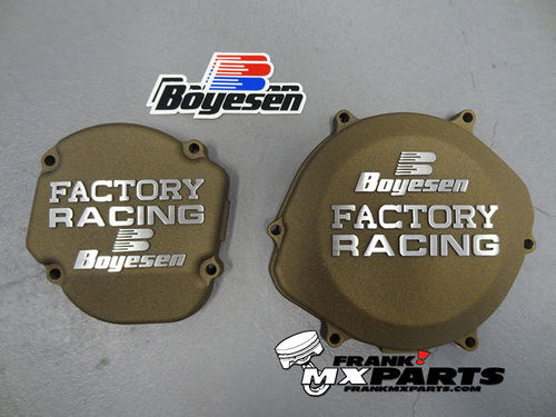 Boyesen Factory racing ignition + clutch cover magnesium / 2002-2007 Honda CR 250 CR250R