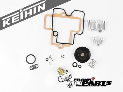 Downdraft Keihin FCR 35-41 flatslide carburetor rebuild kit #4