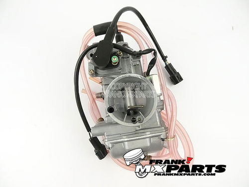 Short body Keihin PWK 38 AirStriker carburetor with TPS and powerjet (NOS)