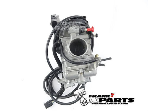 Keihin FCR MX41 flatslide carburetor with 63mm. airbox adapter
