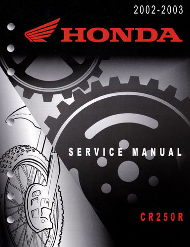 Service manual / 2002-2003 Honda CR250R