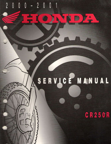 Service manual / 2000-2001 Honda CR250R