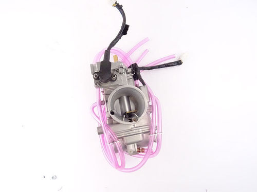 Short body Keihin PWK 38 AirStriker carburetor with TPS and powerjet
