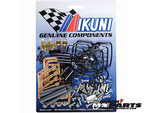 Rebuild kit Mikuni RS 34 36 38 40 flatslide carburetor