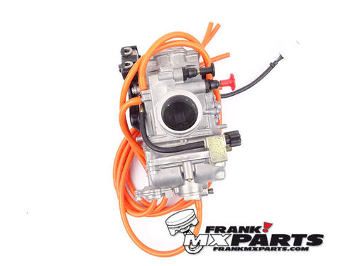 Keihin FCR MX 37 carburetor with choke, hotstart, ACV & TPS / KTM HUSQVARNA UPGRADE KIT