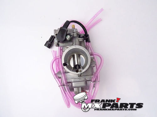 Short-body Keihin PWK 36 quad vent AirStriker carburetor with TPS